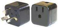 Australian 3-Pin Grounded Voltage Adapter
