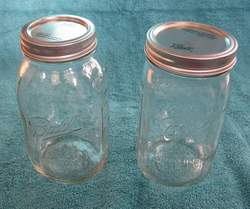 Wide-Mouth and Regular Size Jars